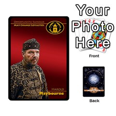 Stargate Resistance By Ajax   Playing Cards 54 Designs   Hwqhvctv54xd   Www Artscow Com Front - Heart2