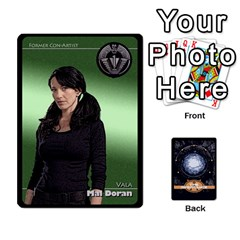Stargate Resistance By Ajax   Playing Cards 54 Designs   Hwqhvctv54xd   Www Artscow Com Front - Spade4