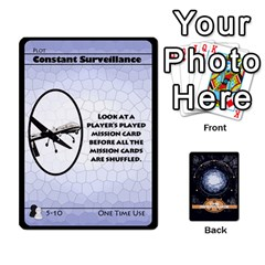 Stargate Resistance By Ajax   Playing Cards 54 Designs   Hwqhvctv54xd   Www Artscow Com Front - Diamond10