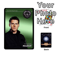 Stargate Resistance By Ajax   Playing Cards 54 Designs   Hwqhvctv54xd   Www Artscow Com Front - Spade6