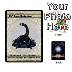 Jack Stargate Resistance By Ajax   Playing Cards 54 Designs   Hwqhvctv54xd   Www Artscow Com Front - ClubJ