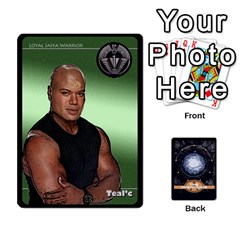 Stargate Resistance By Ajax   Playing Cards 54 Designs   Hwqhvctv54xd   Www Artscow Com Front - Spade9