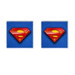 superman cufflinks - Cufflinks (Square)