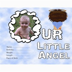 Our Little Angel Collage 11x14 By Chere s Creations   Collage 11  X 14    X8cndsg3u3yt   Www Artscow Com 14 x11  Print - 11