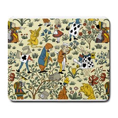 Alice In Wonderland Large Mouse Pad (Rectangle) by EndlessVintage
