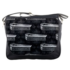 Coffin Messenger Bag by EndlessVintage
