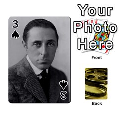 Freds Cards 2 By Frederico   Playing Cards 54 Designs   E0tr4t0nbtsn   Www Artscow Com Front - Spade3