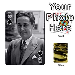 Freds Cards 2 By Frederico   Playing Cards 54 Designs   E0tr4t0nbtsn   Www Artscow Com Front - Spade5
