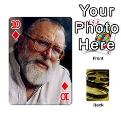 Freds Cards 2 By Frederico   Playing Cards 54 Designs   E0tr4t0nbtsn   Www Artscow Com Front - Diamond10