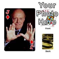 Jack Freds Cards 2 By Frederico   Playing Cards 54 Designs   E0tr4t0nbtsn   Www Artscow Com Front - DiamondJ