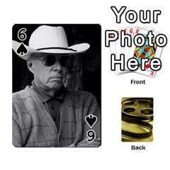 Freds Cards 2 By Frederico   Playing Cards 54 Designs   E0tr4t0nbtsn   Www Artscow Com Front - Spade6