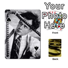Freds Cards 2 By Frederico   Playing Cards 54 Designs   E0tr4t0nbtsn   Www Artscow Com Front - Spade7