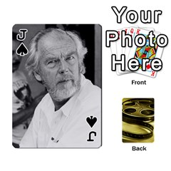 Jack Freds Cards 2 By Frederico   Playing Cards 54 Designs   E0tr4t0nbtsn   Www Artscow Com Front - SpadeJ