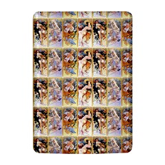 Four Seasons By Alphonse Mucha 1895 Kindle 4 Hardshell Case