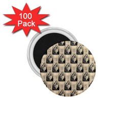Mother Mary 1.75  Button Magnet (100 pack)