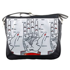 Palmistry Messenger Bag by EndlessVintage