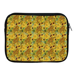 Vase With Twelve Sunflowers By Vincent Van Gogh 1889 Apple iPad 2/3/4 Zipper Case