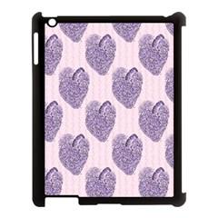 Vintage Heart Apple iPad 3/4 Case (Black) by EndlessVintage
