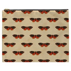 Vintage Moth Cosmetic Bag (XXXL) by EndlessVintage