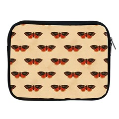 Vintage Moth Apple iPad 2/3/4 Zipper Case