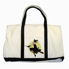 The Modern Witch Two Toned Tote Bag by EndlessVintage