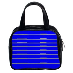 Repeat Handbag Blue Classic Handbag (two Sides) by OutThere