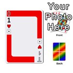 Rainbow Deck v2.1 Deck 1 - Playing Cards 54 Designs