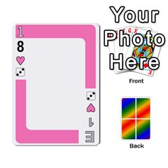 Rainbow Deck V2 1 Deck 1 By Changcai   Playing Cards 54 Designs   M4cjhdnbvy5k   Www Artscow Com Front - Heart9