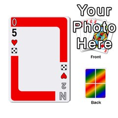 Rainbow Deck V2 1 Deck 1 By Changcai   Playing Cards 54 Designs   M4cjhdnbvy5k   Www Artscow Com Front - Spade6