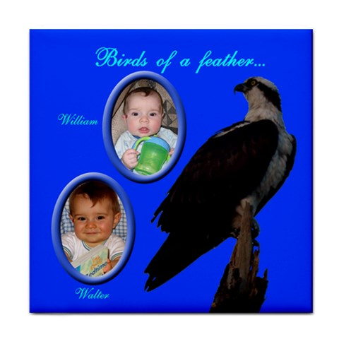 Birds Of A Feather Face Towel By Rd   Face Towel   9xp0dfev1m9c   Www Artscow Com Front