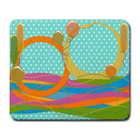 Baloons Mousepad By Zornitza   Collage Mousepad   B9h0jvfyqfkq   Www Artscow Com 9.25 x7.75 Mousepad - 1
