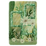 Aqua Floral Swirl Kindle Fire Hard Case - Kindle Fire (1st Gen) Hardshell Case