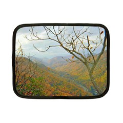 Way Above The Mountains Netbook Case (small) by Majesticmountain
