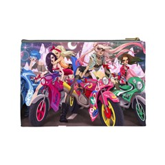 Sailor Biker Babes By Keia Coenen   Cosmetic Bag (large)   Ja2ga48i62n3   Www Artscow Com Back