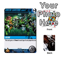 Dcdbg Green Lantern Expansion1 By Mark   Playing Cards 54 Designs   Aaut4dy3y6sk   Www Artscow Com Front - Diamond4