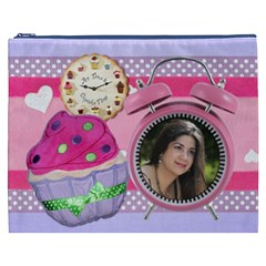 Any Time Is Cupcake Time Cosmetic Bag By Ivelyn   Cosmetic Bag (xxxl)   Kc7satk6r6pz   Www Artscow Com Front