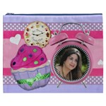 Any Time is Cupcake Time cosmetic bag - Cosmetic Bag (XXXL)