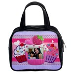 cupcake frames purse - Classic Handbag (Two Sides)