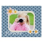 flower kids - 8  x 10  Desktop Photo Plaque