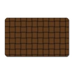 Brown Nose Weave Magnet (rectangular) by BestCustomGiftsForYou