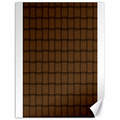 Brown Nose Weave Canvas 18  X 24  (unframed) by BestCustomGiftsForYou