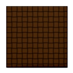 Brown Nose Weave Face Towel by BestCustomGiftsForYou
