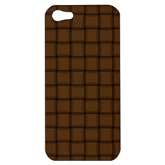 Brown Nose Weave Apple Iphone 5 Hardshell Case by BestCustomGiftsForYou
