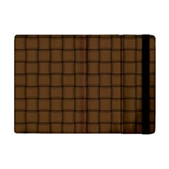 Brown Nose Weave Apple Ipad Mini Flip Case by BestCustomGiftsForYou