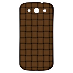 Brown Nose Weave Samsung Galaxy S3 S Iii Classic Hardshell Back Case by BestCustomGiftsForYou