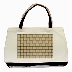 Champagne Weave Classic Tote Bag by BestCustomGiftsForYou