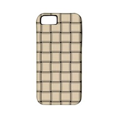 Champagne Weave Apple Iphone 5 Classic Hardshell Case (pc+silicone) by BestCustomGiftsForYou