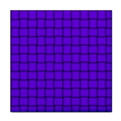 Violet Weave Ceramic Tile by BestCustomGiftsForYou