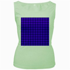 Violet Weave Womens  Tank Top (green) by BestCustomGiftsForYou