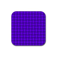 Violet Weave Drink Coaster (square) by BestCustomGiftsForYou